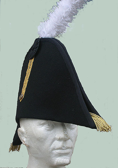 8b795802731 Bicorn (applied hat) view from the front